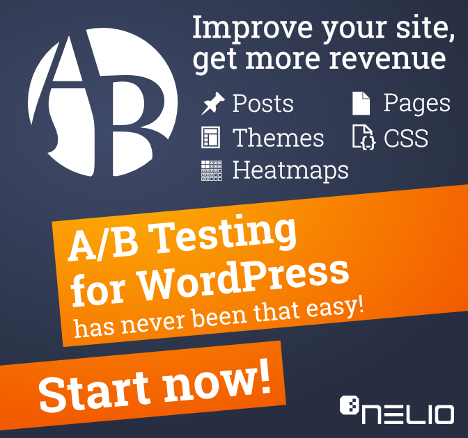 Nelio A/B Testing for WordPress