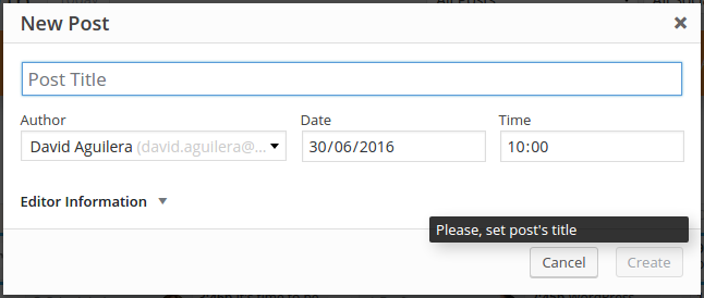 Constraint and Feedback applied to a Button Disabled