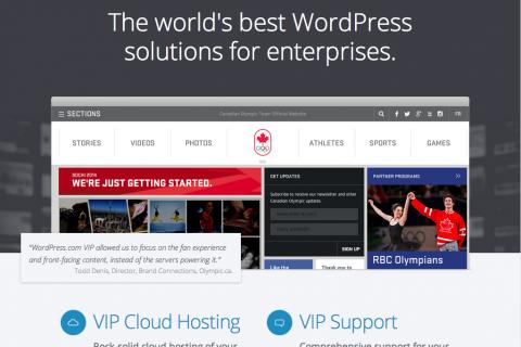 Leer WordPress VIP, un servicio para grandes empresas
