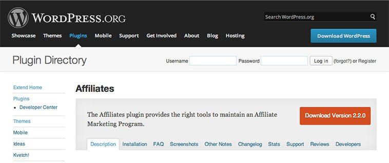 Los programas de afiliados en WordPress