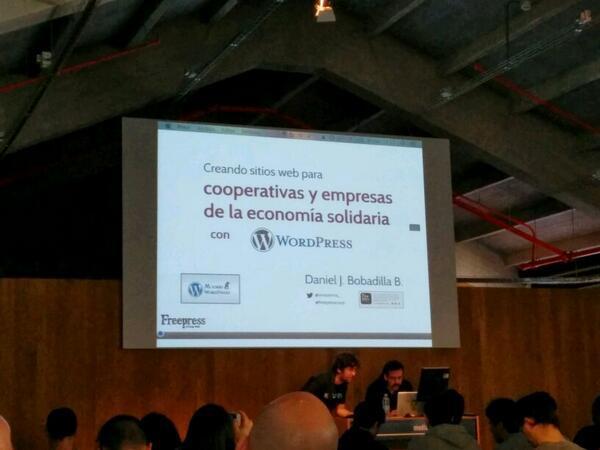 Captura de la portada de la presentación de Daniel Bobadilla