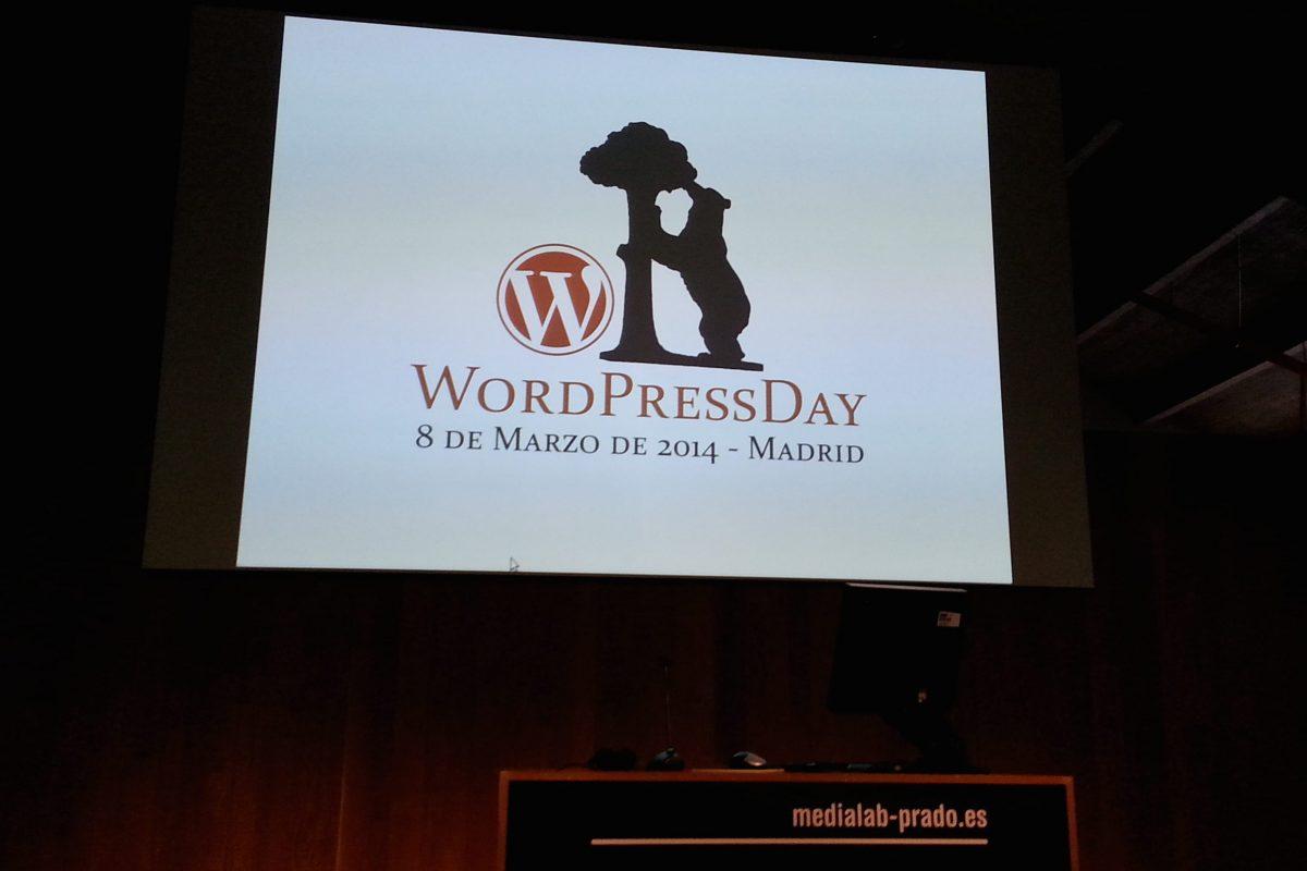 Logo del WordPress Day madrid 2014