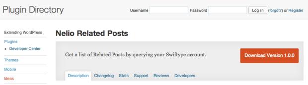 Nelio Related Posts WordPress Plugin