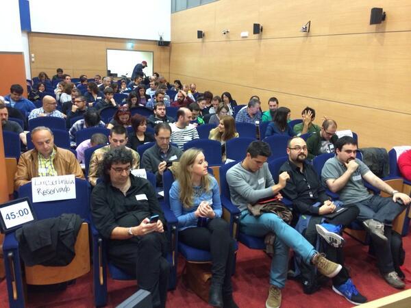 Asistentes a WordPress Euskadi 2014