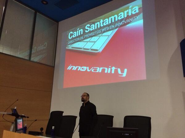 Cain Santamaria en WordPress Euskadi 2014