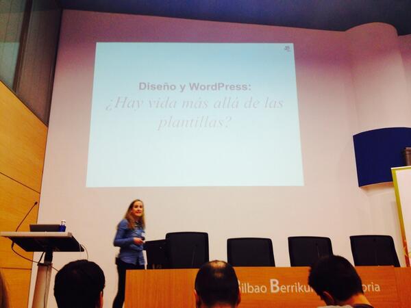 Irene Madariaga en WordPress Euskadi 2014
