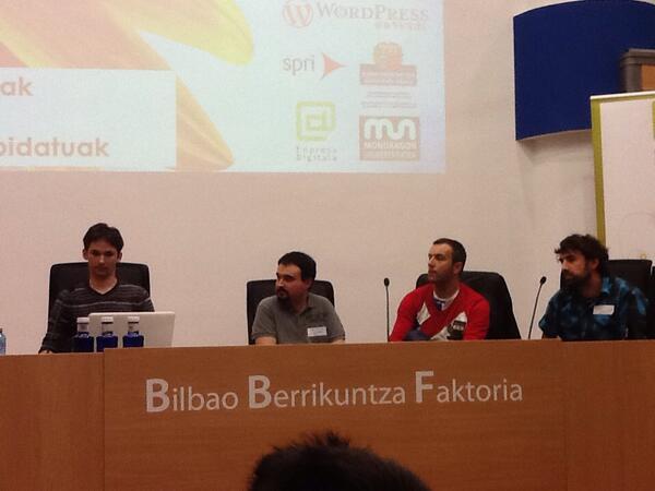 Mesa redonda en WordPress Euskadi 2014