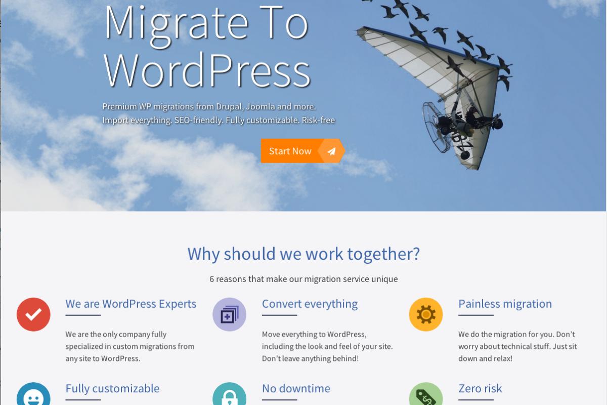 MigrateToWP-Screenshot