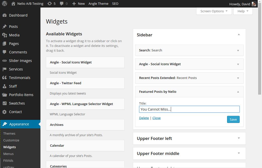 El widget de Nelio Features posts. Úsalo dónde y cuándo quieras