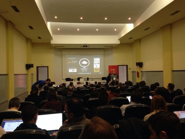 Asistentes al WordPress Day Cantabria