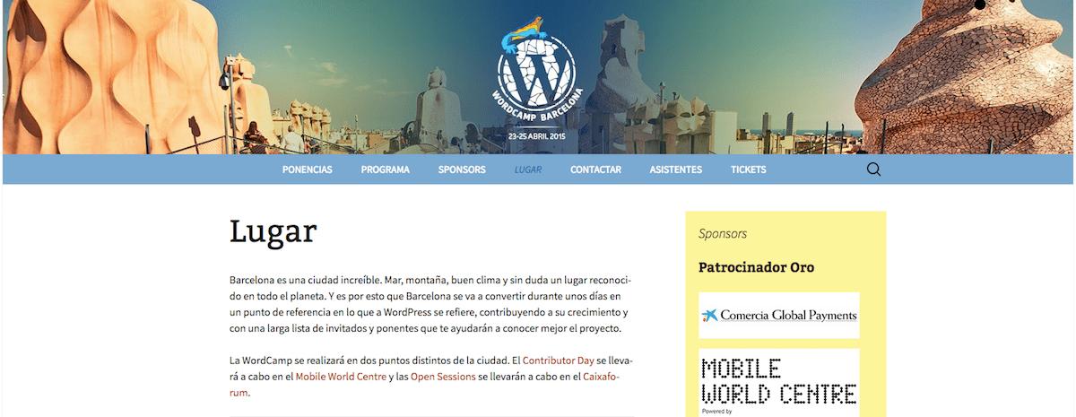 WordCamp Barcelona 2015