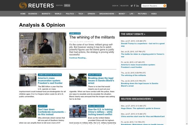 Reuters - Analysis & Opinion