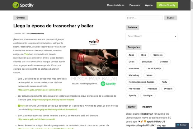 Spotify Blog