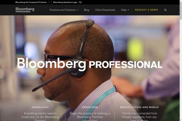 Bloomberg Professional Service