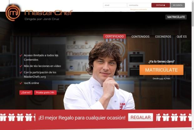 75 ejemplos de marcas y organizaciones que usan wordpress - Escuela de cocina masterchef ...