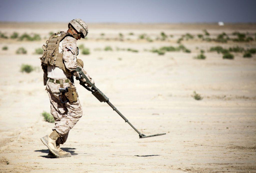 Buscaminas de Marines