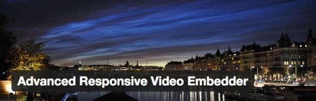 Advanced Responsive Video Embedder