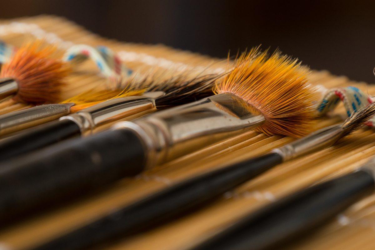 Las herramientas del pintor, de Di Chap