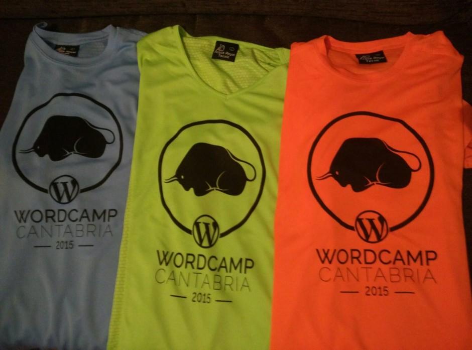 Camisetas WordCamp Cantabria