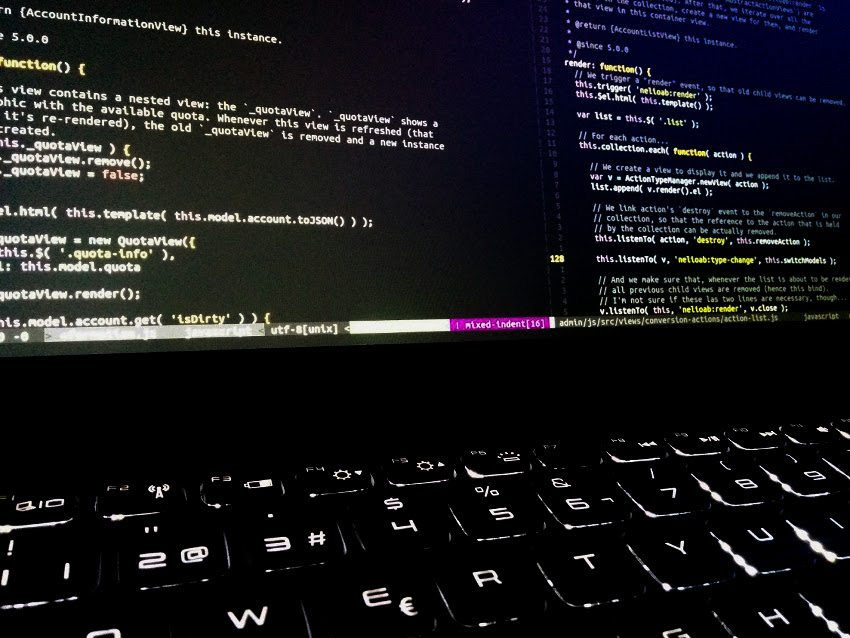 Ejemplo de código fuente