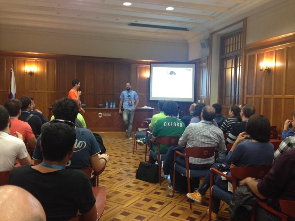 Ponencia de Dani Reguera en WordCamp Cantabria