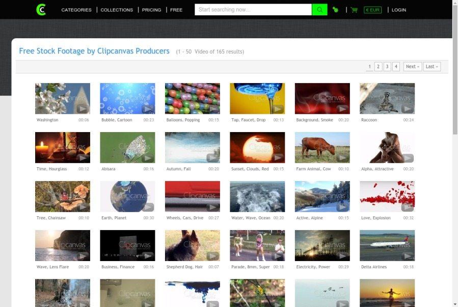 Clipcanvas website
