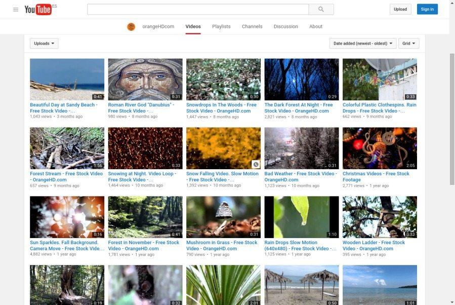 40 sitios donde descargar vídeos libres para tu WordPress