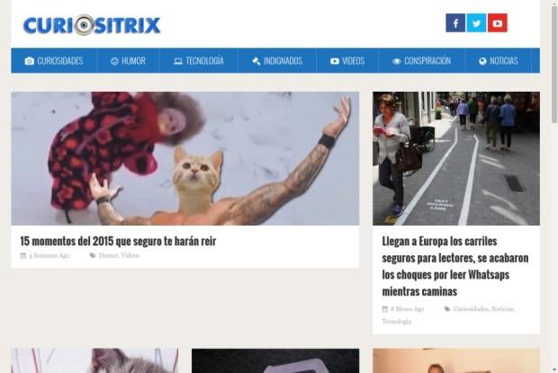 Web de CuriosiTrix