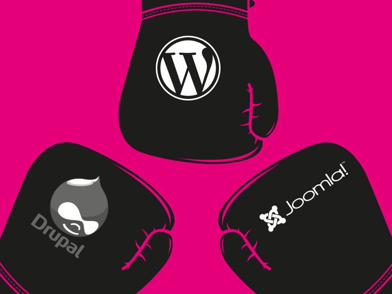 WordPress, Drupal o Joomla