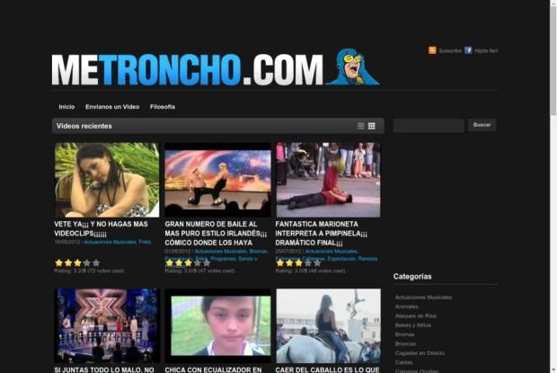 Web de Me Troncho
