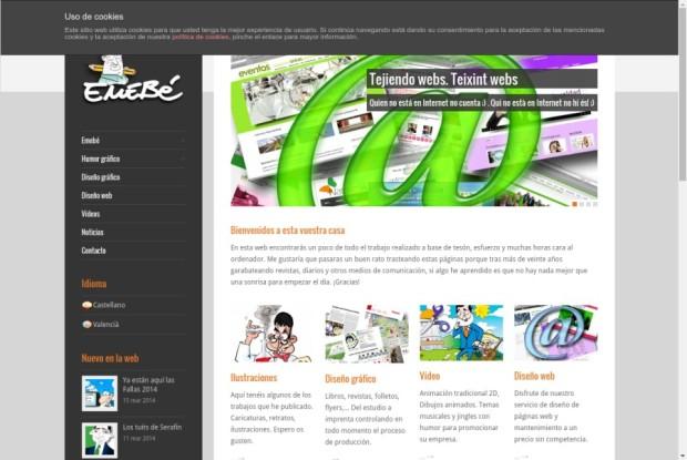 Web de Miquel Benítez