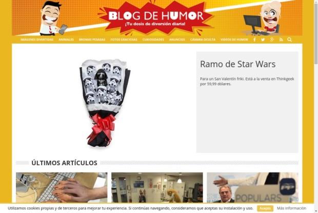 Web de Blog de Humor