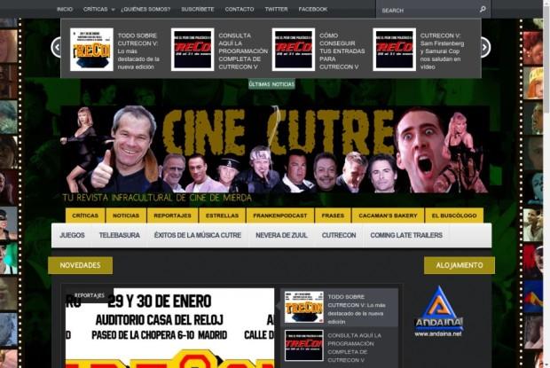 Web de Cine Cutre