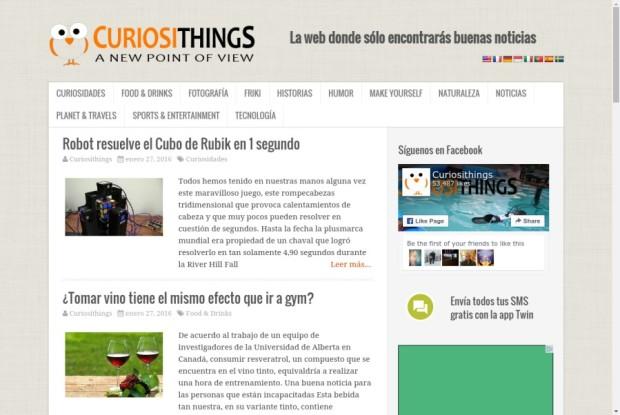 Web de CuriosiThings