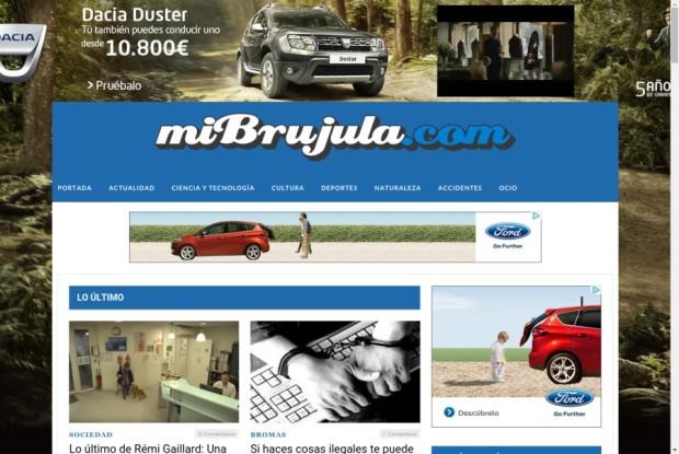 Web de Mi Brújula