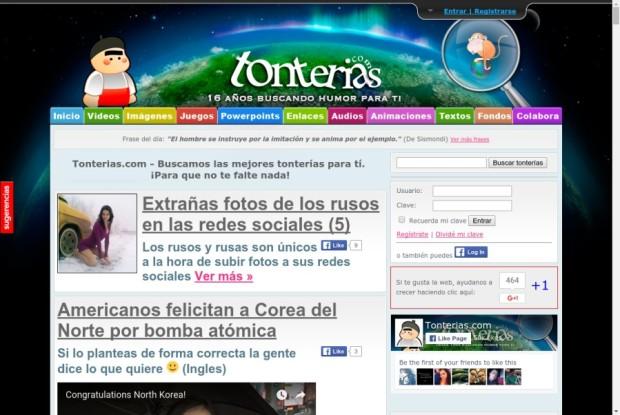 Web de Tonterías