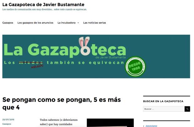 Web de La Gazapoteca