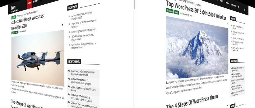 Test A/B de headlines de entradas