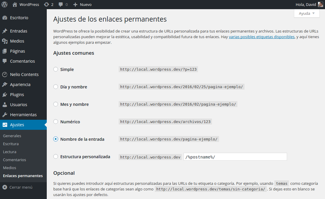 SEO On-site para WordPress