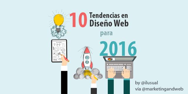 10 Tendencias de Diseño Web por Dvid Arenzana