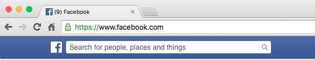 Facebook tiene HTTPS