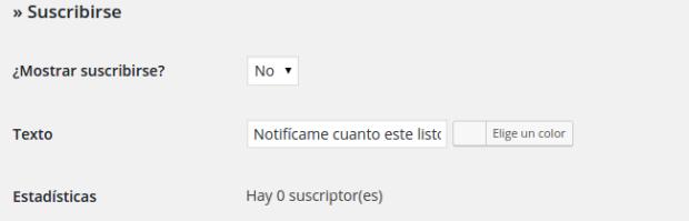 Añadir un pequeño formulario de contacto