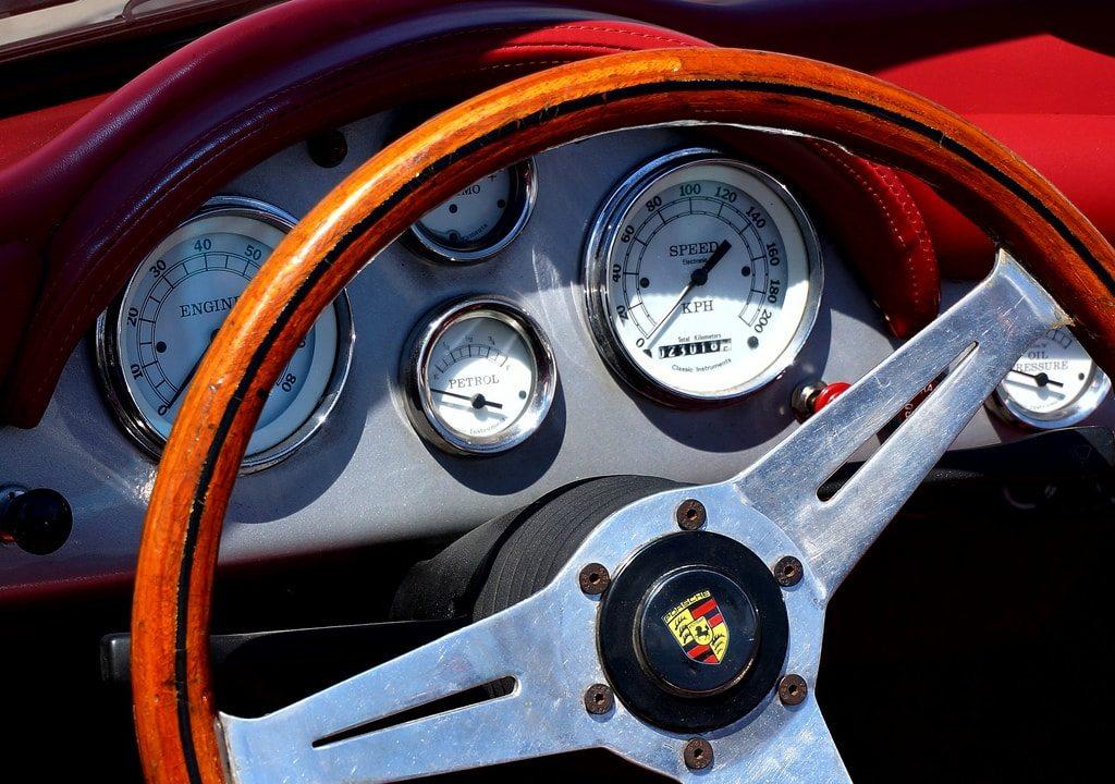 Salpicadero de Porsche por Raúl