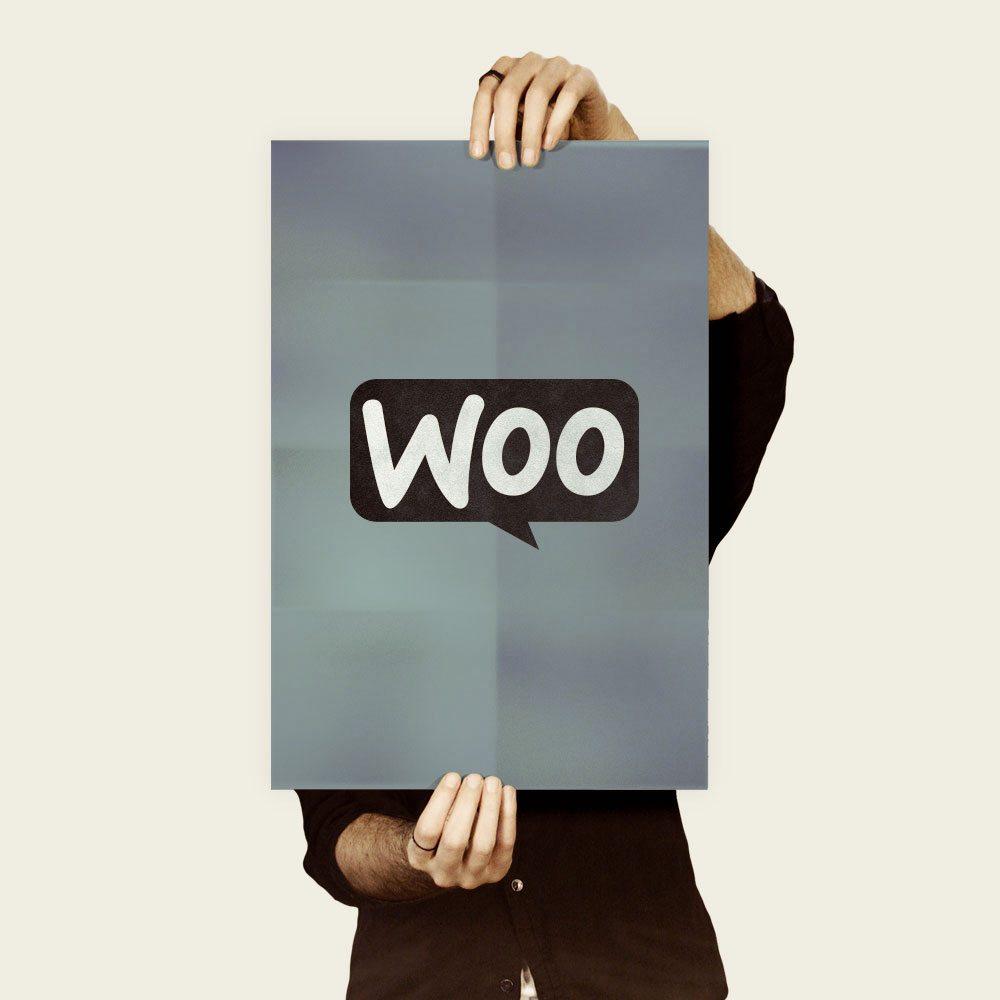 Poster Woo Gris