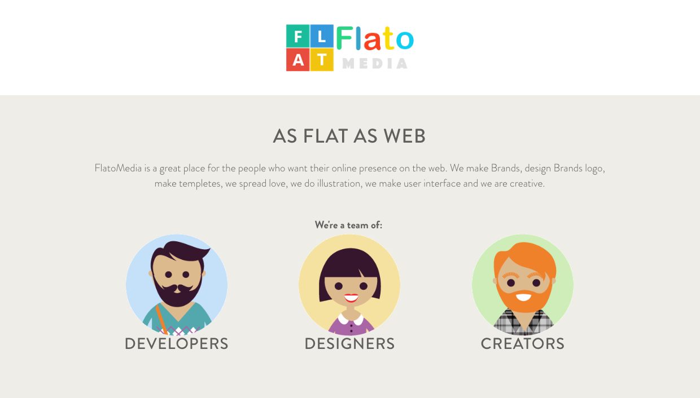 Captura de la web de Flatomedia.com
