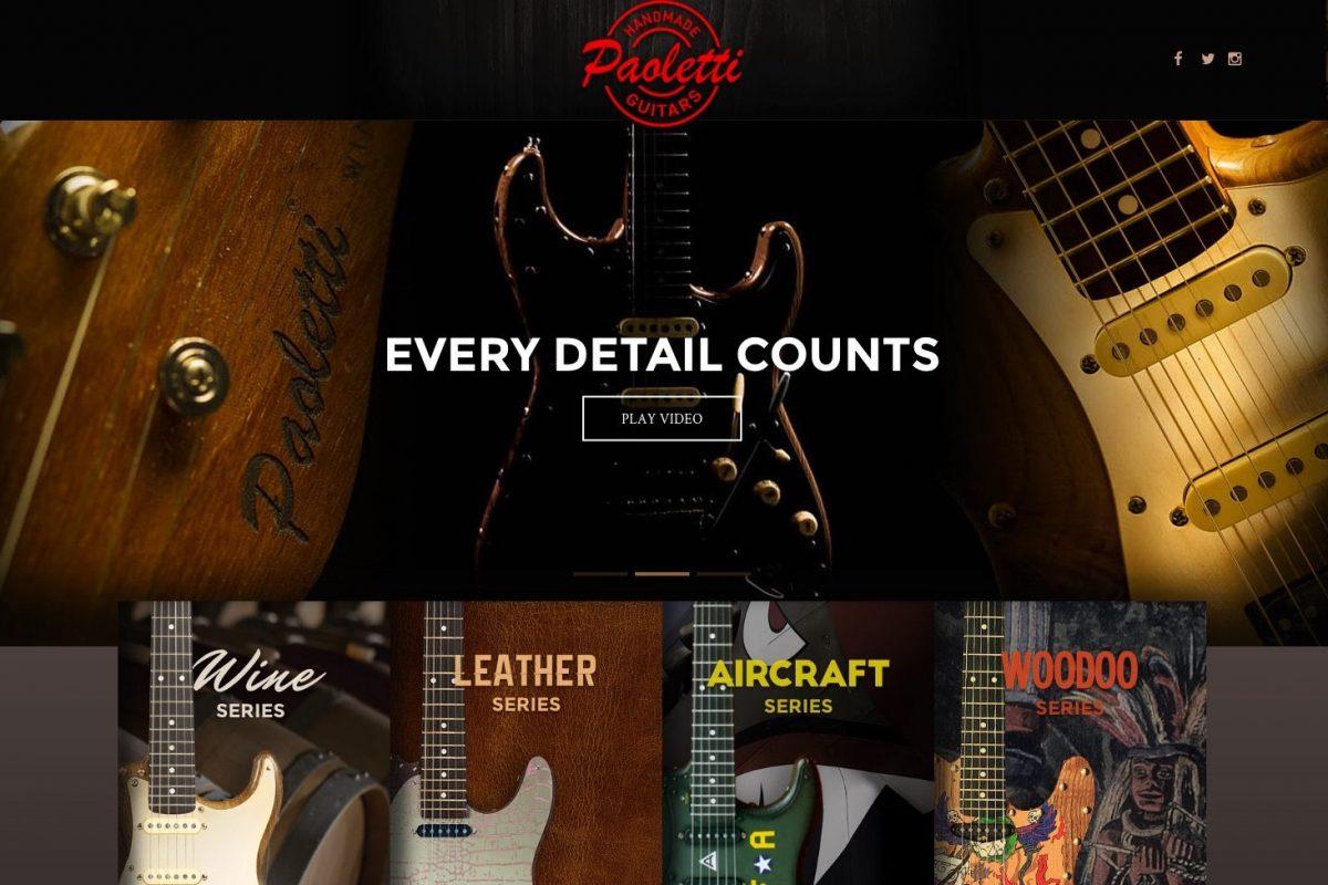 Captura de pantalla de web Paoletti.com