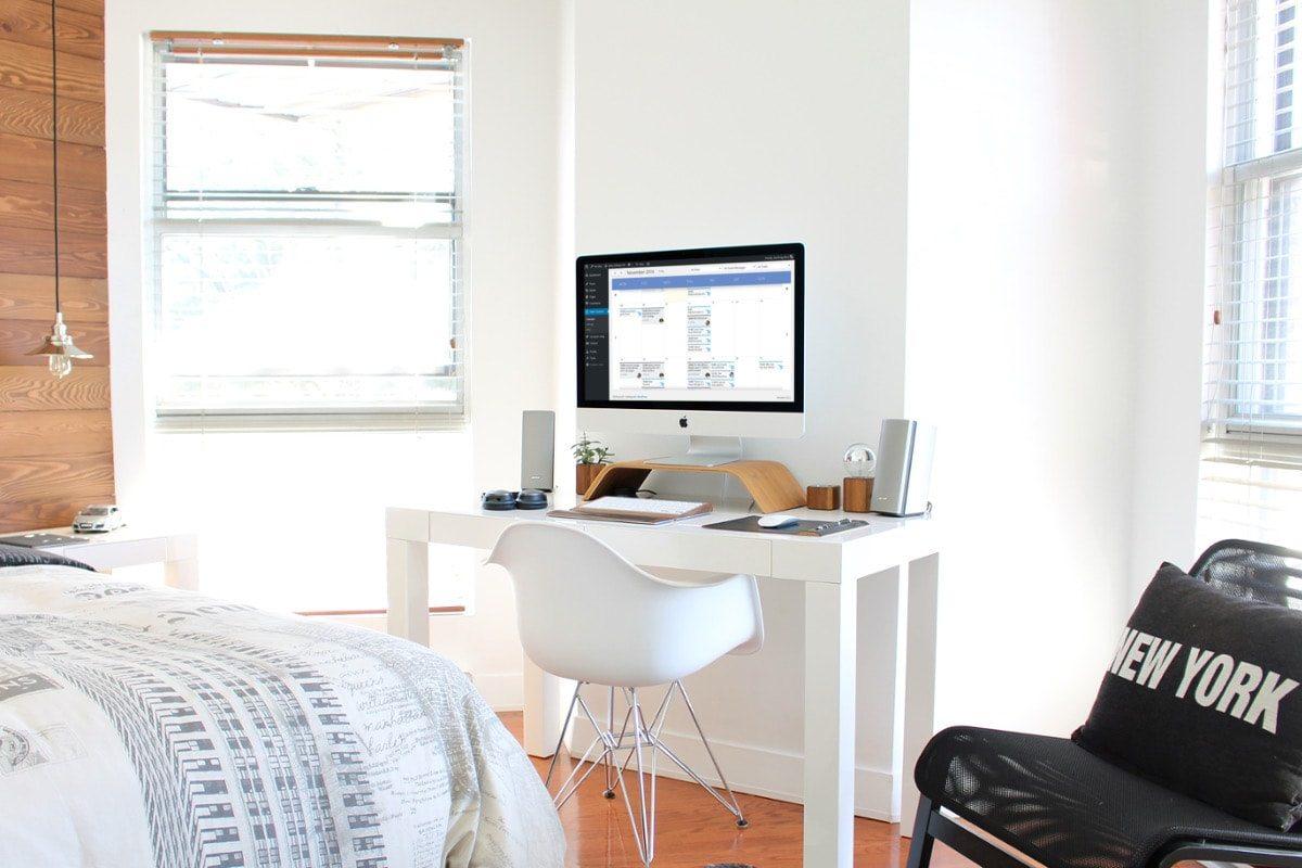 Habitación con ordenador