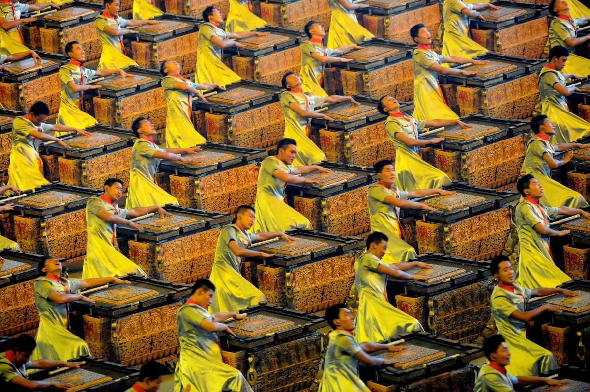 2008 Summer Olympics - Opening Ceremony - Beijing, China, de U.S. Army