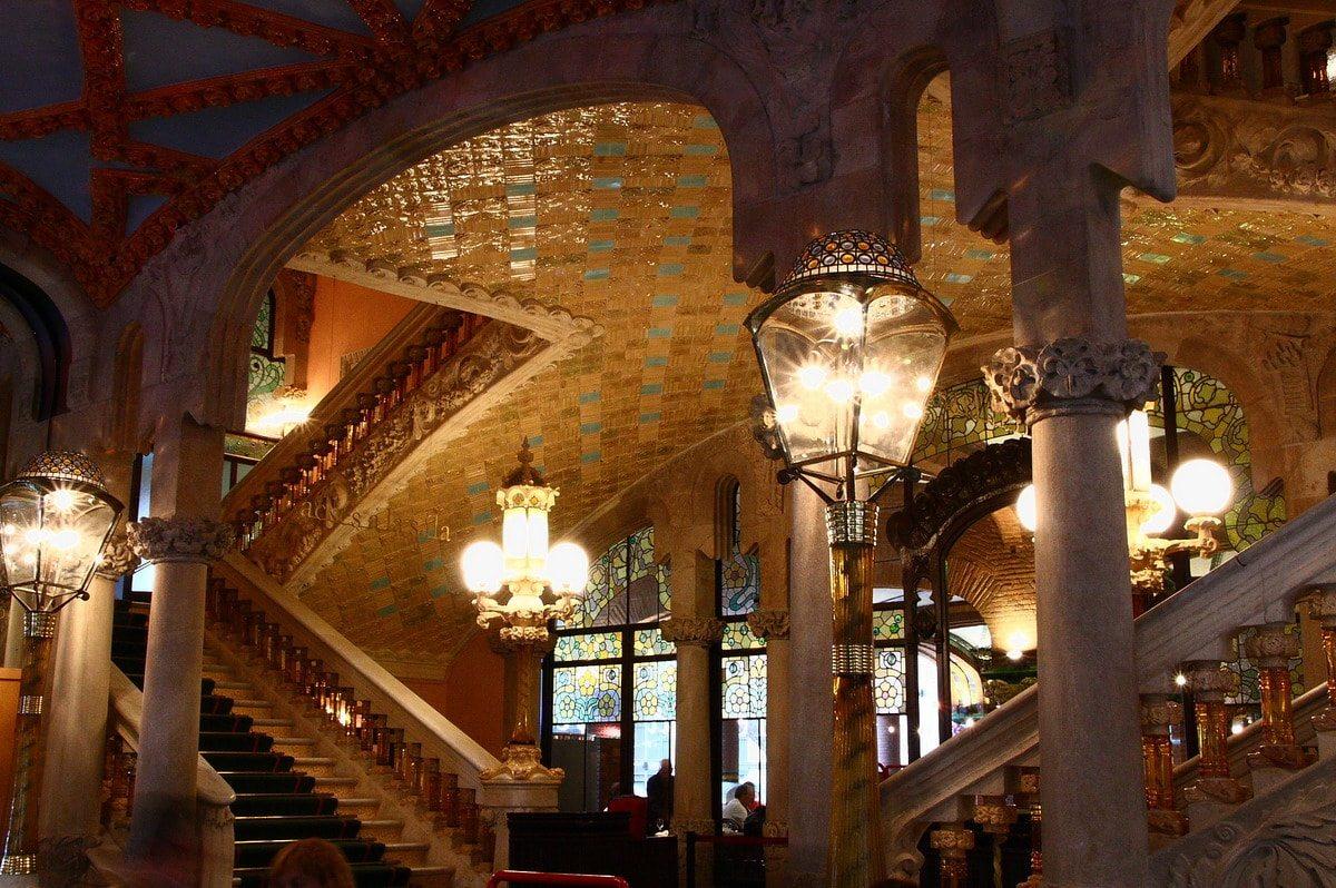 Hall del Palau de la Música Catalana, de Amanda Álvarez