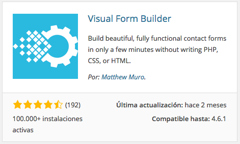 Visual From Builder